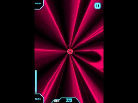 The Collider Game gameplay! (on iphone)