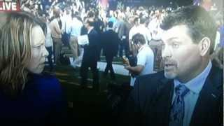 ESPN Analysts Caught on Live TV hatin on Tim Tebow!