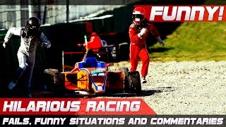 Video FUNNY RACING! Best of Fails, Hilarious Situations and Commentaries of 2016-2019 Compilation MP3, 3GP, MP4, WEBM, AVI, FLV Agustus 2019