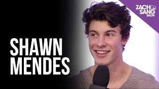 Video Shawn Mendes Talks Album #3 and Blake Shelton | Backstage at the AMAs download in MP3, 3GP, MP4, WEBM, AVI, FLV January 2017