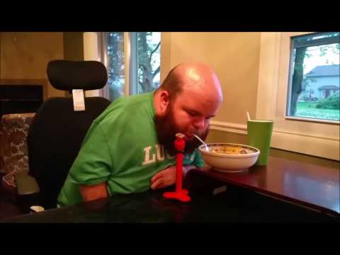Guy Designs And 3D Prints His Own Assistive Eating