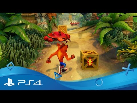 Crash Bandicoot : N.Sane Trilogy gameplay