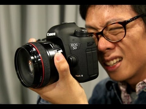 canon - In this video, we attend the Canon press conference for the 5D Mark III announcement. Kai waits, waits and waits some more and then finally gets to play with...