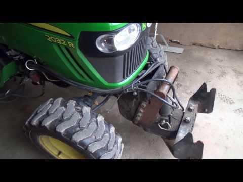 Indoor Tractor change over to Mower mode (видео)