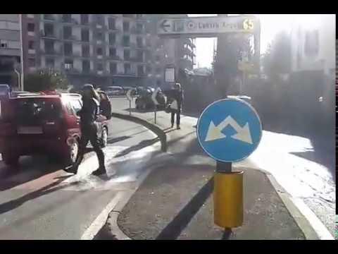 Troppi incidenti, arrivano i vigili in viale Masia a Como