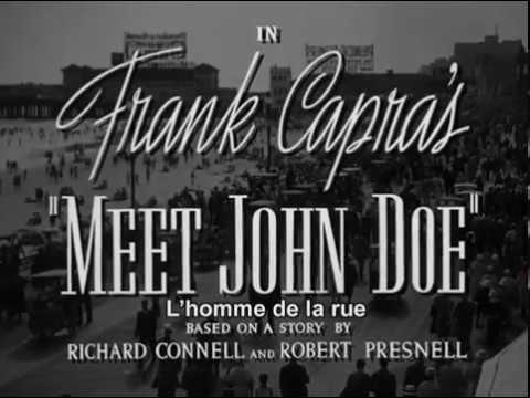Meet John Doe 1941 1080p FULL HD CC Subtitles