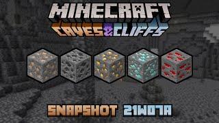 Primeras Impresiones de Minecraft 1.17 (21w07a) [LA NUEVA GENERACIÓN DE CUEVAS]