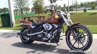 10. New 2014 Harley Davidson Softail Breakout Motorcycles for sale