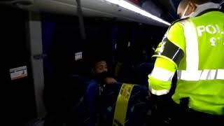 Sorprenden a ocho pasajeros en un bus saliendo sin permisos de Barranquilla hacia Medellín