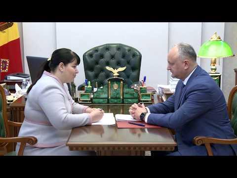 Șeful statului a avut o întrevedere de lucru cu noul vicepremier pentru reintegrare