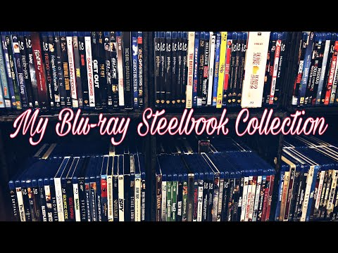 My Entire Steelbook Collection - BLU-RAY UPDATE