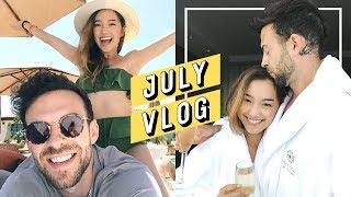And the vlogging continues! I filmed throughout the first two weeks of this month and also incorporated what I wore too. n_n I heard ya'll missed the outfit diary series so I made sure to film my look (when I remembered. LOL!) In this video, I head to a friend's wedding, do a couple shoots, spend a romantic getaway with my fiance, and send off a few birthdays. ------------------------------------------💎 Subscribe and become a Jem today: http://bit.ly/2iLayjY 💎------------------------------------------➫  Instagram: http://instagram.com/imjennim➫ Twitter: http://twitter.com/imjennim➫ Facebook: http://facebook.com/imjennim➫ Spotify: http://bit.ly/2rctq05➫  Snapchat: http://snapchat.com/add/jennimsnaps------------------------------------------➫ Graphics by Dawn Lee: http://bit.ly/2a0wWpA➫ Video edited by Jenn Im------------------------------------------❐ MUSIC ❏➫ DJ Grumble's Soundcloud: http://bit.ly/1ElnUag➫ DJ Grumble's Spotify: http://spoti.fi/2s5bRD7------------------------------------------FTC: This video is NOT sponsored!