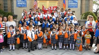 Holy Martyrs Armenian Day School celebrates the 25th anniversary of Armenia's independence