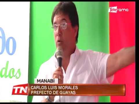 Convenio de prefecturas beneficiará a nueve cantones de Manabí y Guayas