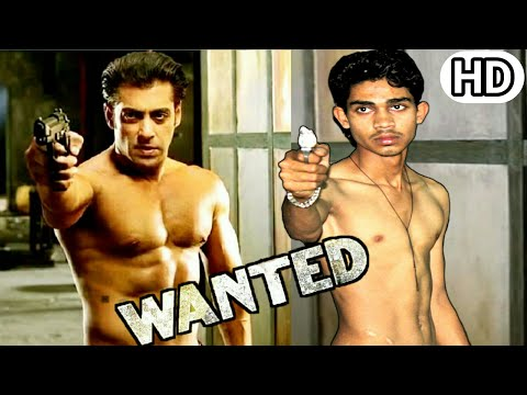 Wanted (2009)  Movei Salman Khan wanted spoof wanted Fight scene Salman khan Spoof Kp films