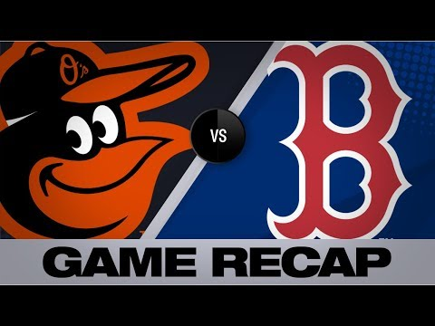Video: Red Sox blank O's in 4-0 win | Orioles-Red Sox Game Highlights 8/17/19