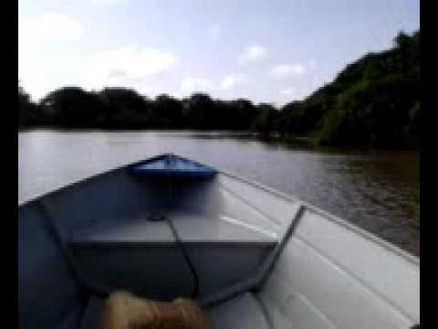 Viagem de volta Santa Cruz do Arari para Cachoeira do Arari barco ricardona.3gp