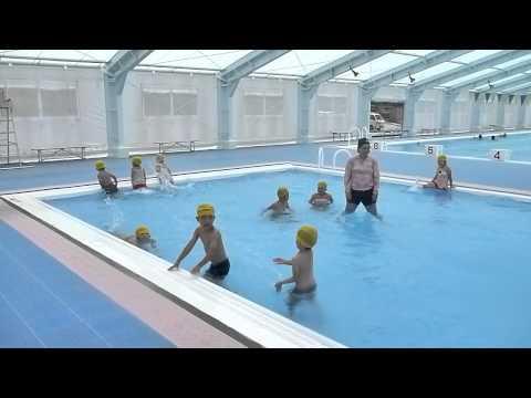 平成27年初B&Gプール若木保育園ぱんだ・きりん組