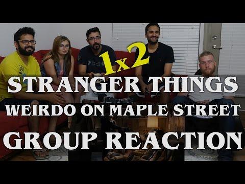 Stranger Things - 1x2 The Weirdo on Maple Street - Group Reaction