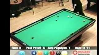 Paul Potier Vs Alex Pagulayan Canadian 9 Ball Championship 2000