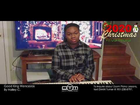 Hailey C. playing Good King Wenceslas | 2020 Christmas Virtual Recital | Student Spotlight