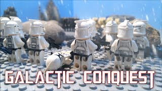LEGO Star Wars Galactic Conquest: Part 2 (Stop Motion Animation)