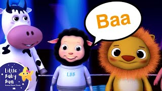 The Animal Sounds Song for Children | Nursery Rhymes | by LittleBabyBum!