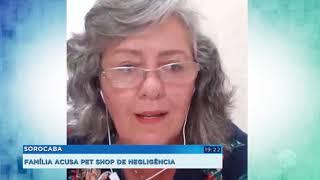 Família acusa de negligência pet shop que cuidava de cão que morreu atropelado