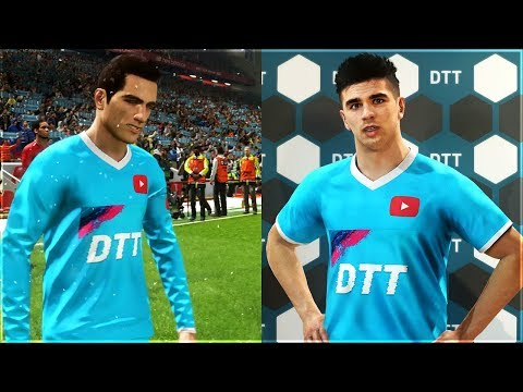 HOW TO MAKE YOUR OWN CUSTOM KIT IN PES 2019