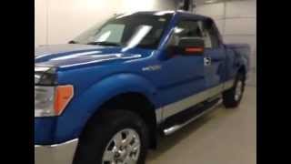 Used Blue 2009 Ford F-150 4WD SuperCab XLT in Lethbridge, Alberta
