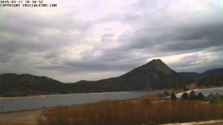 2015-01-11 - Estes Park Fairgrounds East Time-Lapse