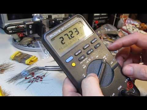 #109: How to: Fluke 87 Multimeter fuse replacement,  DMM True RMS