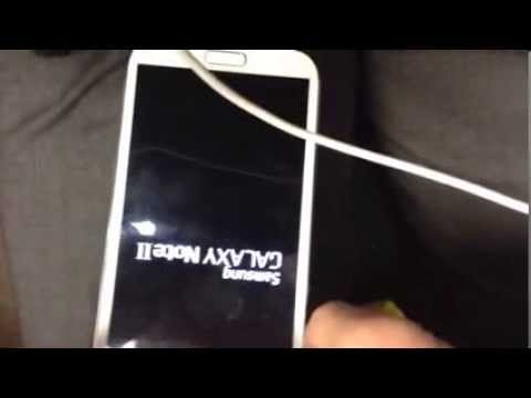 Samsung galaxy note 2 infinite boot loop/charging problem