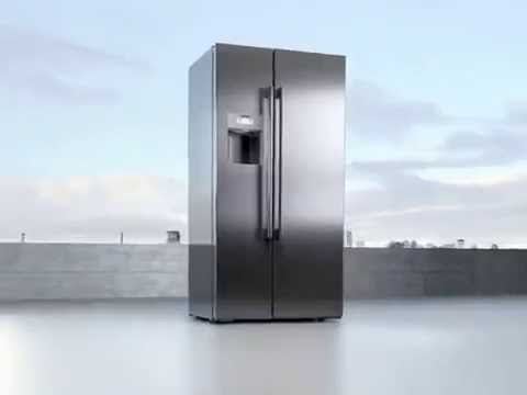 Siemens coolDuo side by side refrigerator