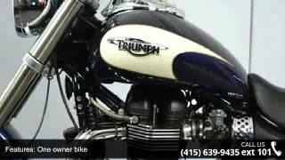 4. 2010 TRIUMPH America Bay Area Cruiser - SF Moto - San Franc