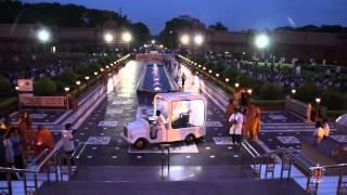 Gandhinagar India  city photo : Akshardham Visit - Guruhari Darshan, 04 August 2014, Gandhinagar, India