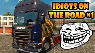 Video ★ IDIOTS on the road #1 - ETS2MP | Funny moments - Euro Truck Simulator 2 Multiplayer MP3, 3GP, MP4, WEBM, AVI, FLV Juni 2019