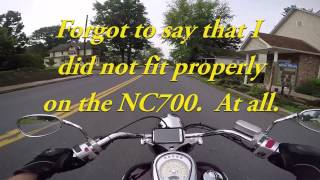4. Chip Has a New Motorcycle!  2012 Suzuki Boulevard C50T