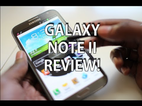GALAXY NOTE 2 REVIEW!
