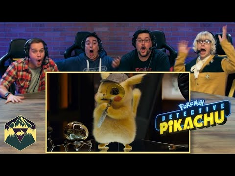 POKÉMON Detective Pikachu - Official Trailer 2 Reaction