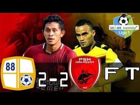 Barito Putera vs PSM Makassar 2-2 All Goals & Highlight - Liga 1 - 29/10/2017
