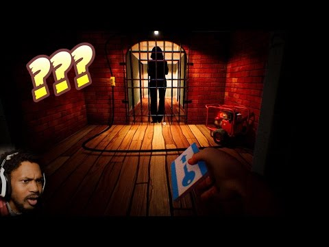 WHO IS THE NEIGHBOR REALLY LOCKING UP!? | Hello Neighbor #4 (видео)