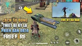 Free Fire | Phân tích OB14: Cách Sử Dụng Thiết Bị Kỳ Lạ | Có nên mua MP5 Máu Đỏ? Rikaki Gaming
