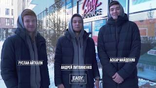«Astana» players visited «Easy Bounce» basketball store
