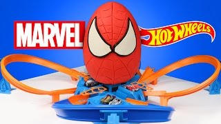 Video Spiderman Superhero Kinder Play-Doh Surprise Egg with Marvel Hot Wheels Cars & Race Track | KIDCITY MP3, 3GP, MP4, WEBM, AVI, FLV Juni 2018