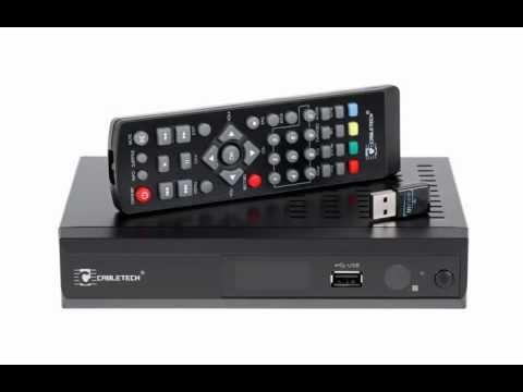 Tuner cyfrowy DVB-T MPEG-4 HD WiFi Cabletech URZ0191