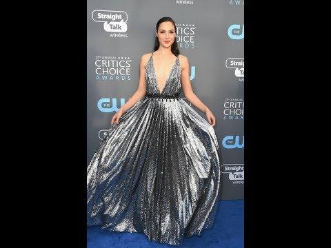 Critics' Choice Awards 2018: Gal Gadot dazzles as she flaunts cleavage in plunging gown