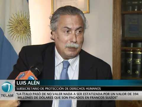 Luis Alén: Crímenes de lesa humanidad más delitos económicos