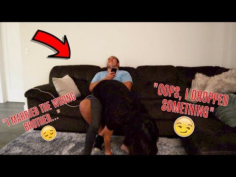 I WANT TO BE WITH YOU PRANK ON HUSBANDS BROTHER!!!