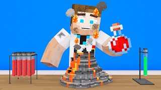 We Became SCIENTISTS In Minecraft!